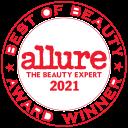 2021 Allure Readers' Choice Award
